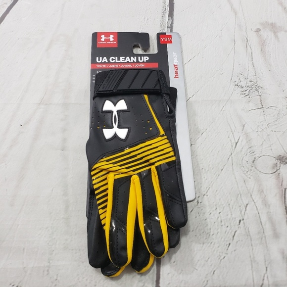 Under Armour Other - Under Armour Batting Gloves Youth Size Small UA
